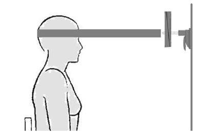 Ermittlung der Kraft der Nackenmuskulatur